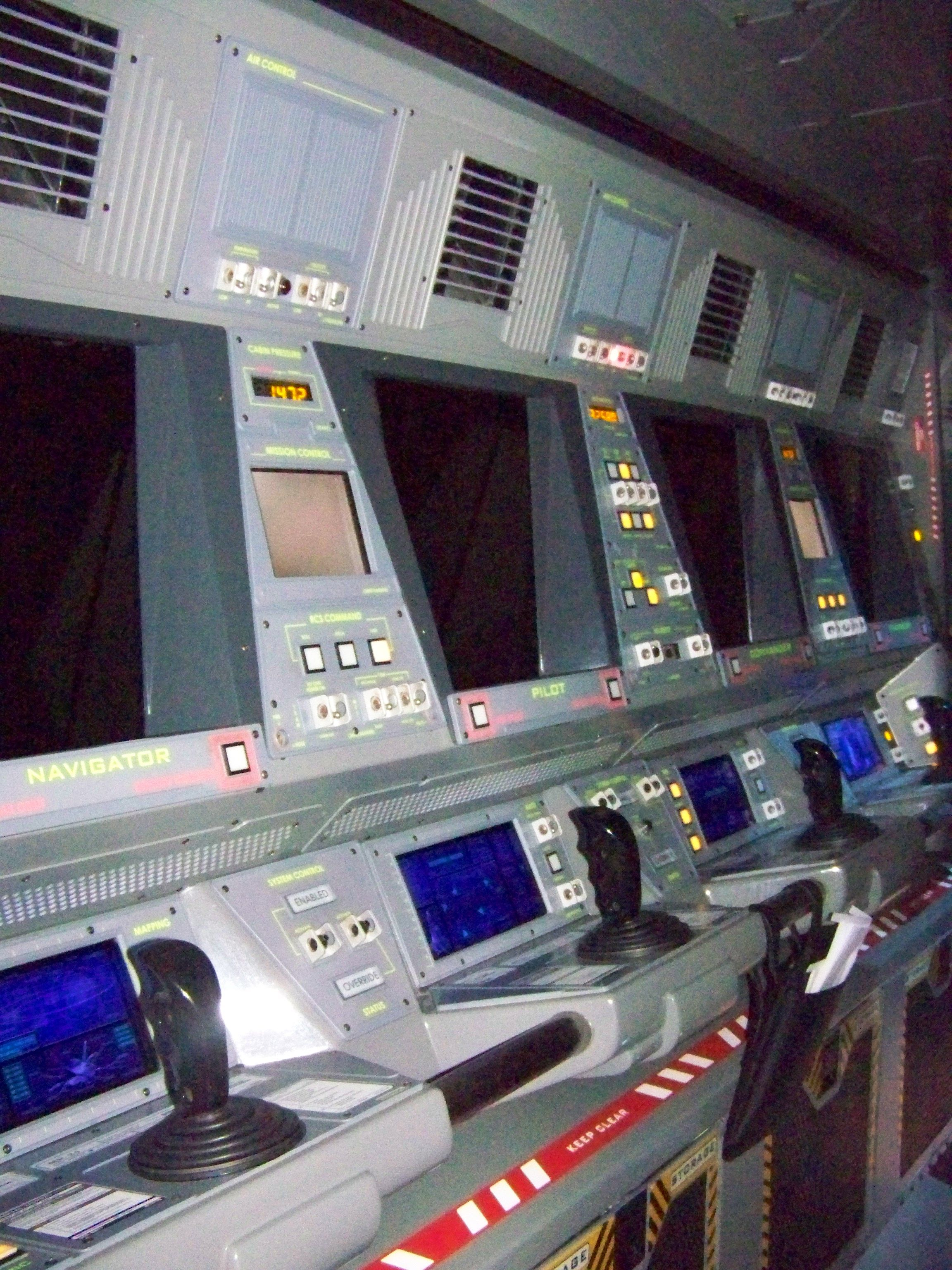 Epcot Mission Space Ride - Pics about space