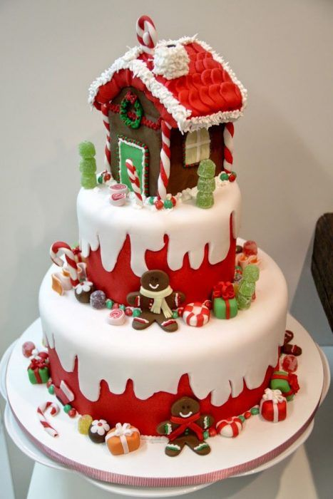 Pasteles De Navidad Christmas Cake Designs Christmas Cake Christmas Deserts