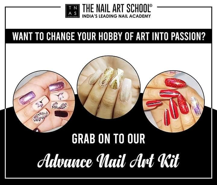 Our Advance Nail Art Kit includes all the essentials you need to create extravagant nail arts! ✨  You'll be able to create whatever nail designs you want with an arsenal like this on hand and take your nail game to the next level.   Why wait? Get yours now!  Academy at - Mumbai   Bengaluru   Kolkata  #AdvanceNailArtKit #NailArtCourses #NailArt #Nails #NailArtDesign #NailTechnicians #nailtrends #LearnNailArt #NailCourse #DIY #NailPro #NailTechnician #NailExtensions #Learn #Enrol #gelpolish