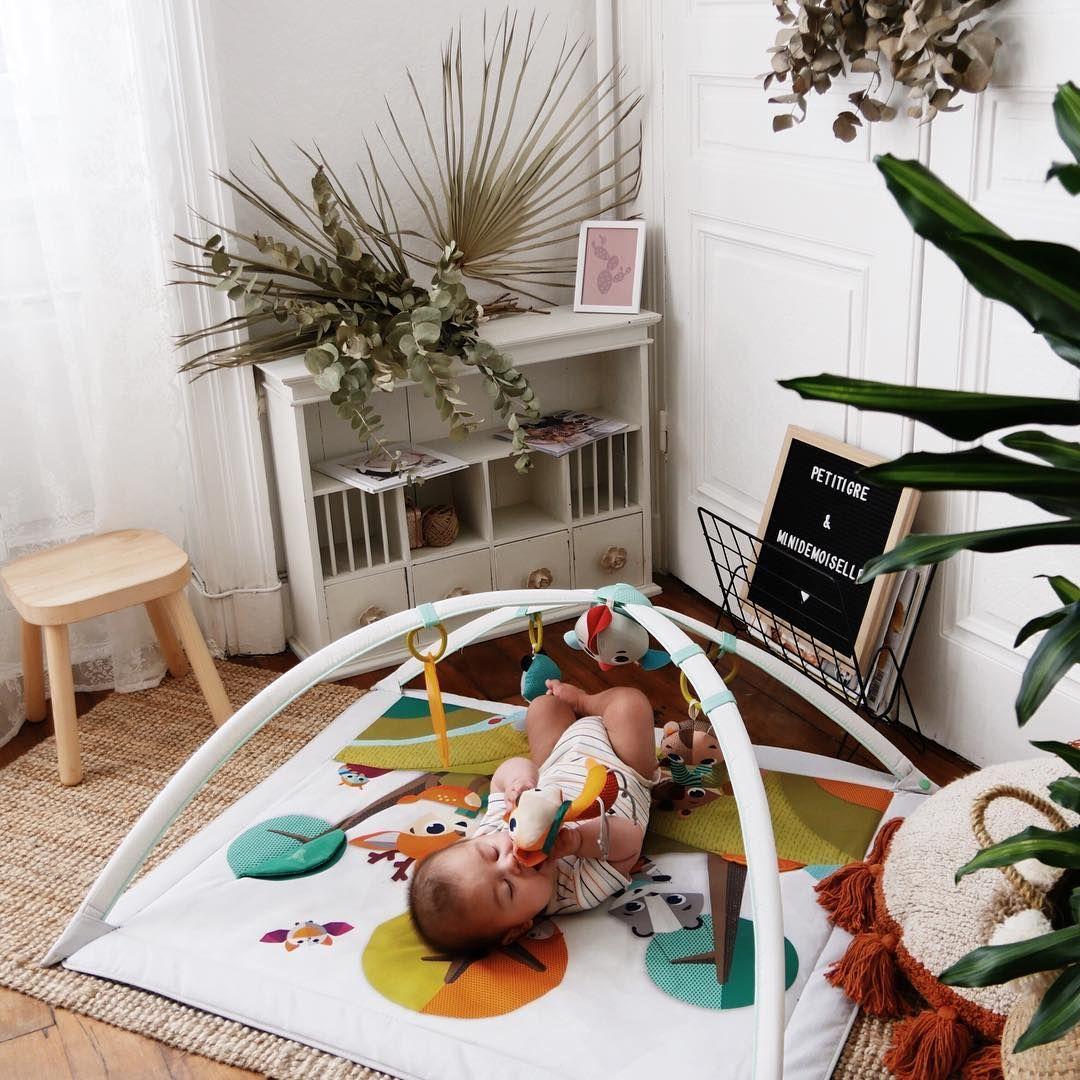 Tiny Love Tapis Déveil Avec Arches Modulables Collection Foret