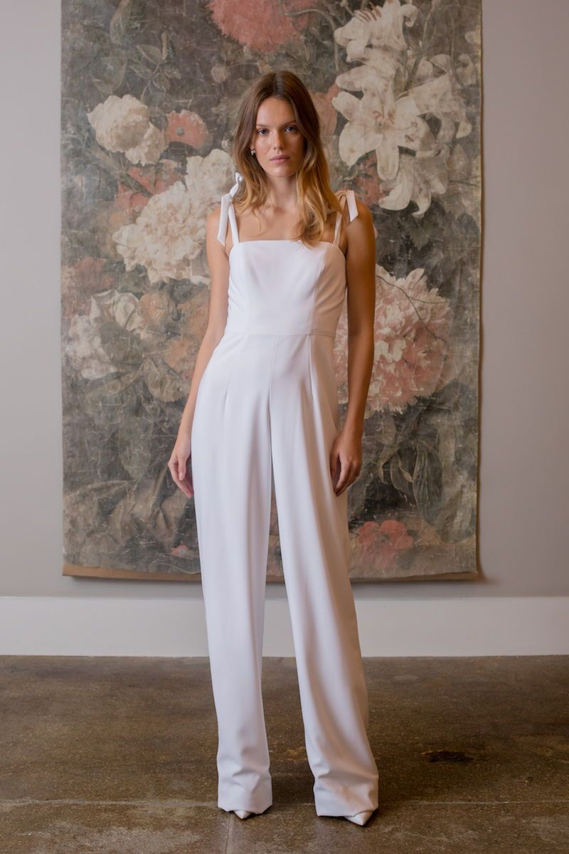 pantsuits u jumpsuits we loved from bridal fashion week style
