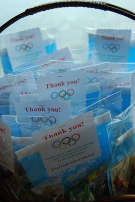 Tania McCartney Blog: Parties: Let the Games Begin! Mini Olympics Party
