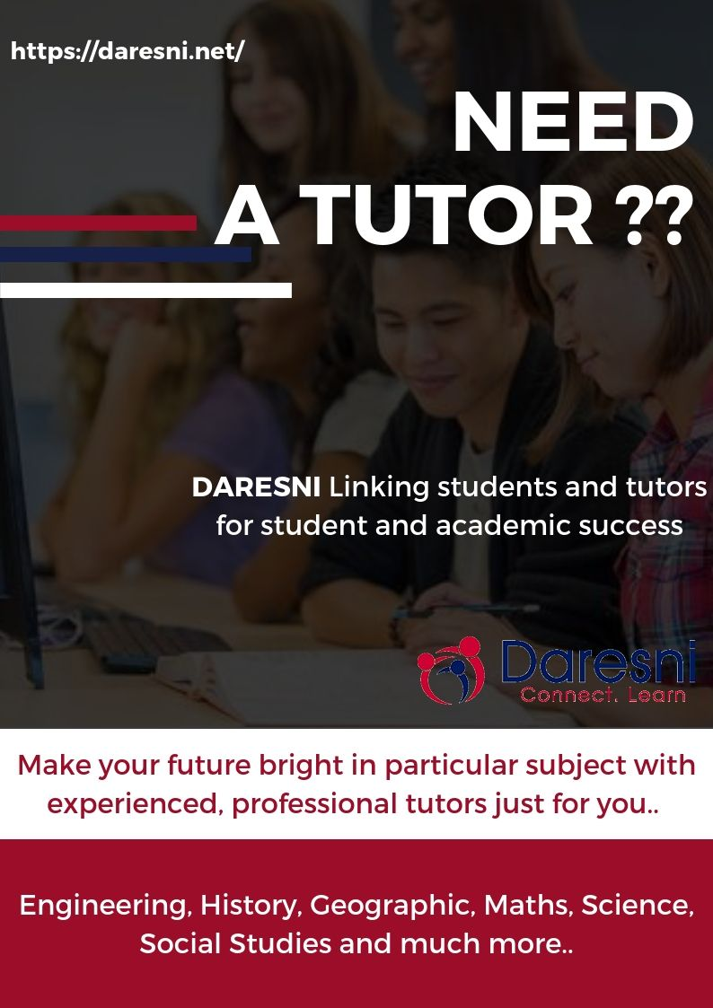 Are You Looking For Part Time Tutor Job Then Daresni Is The Best
