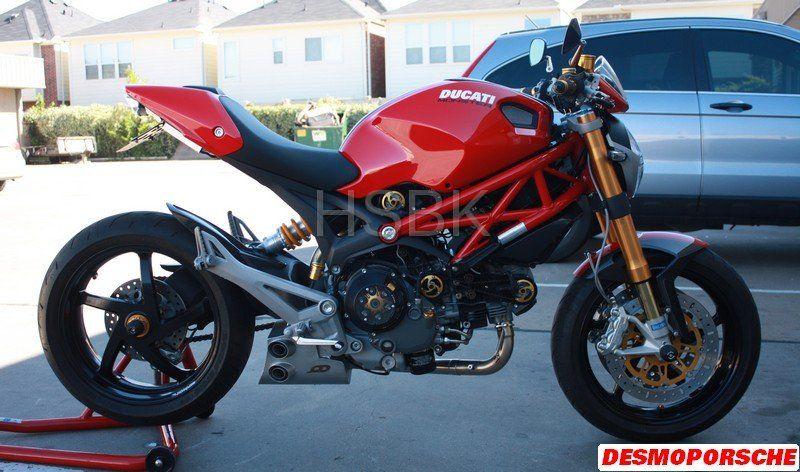 Termis on my Diesel - Ducati Monster Forums: Ducati