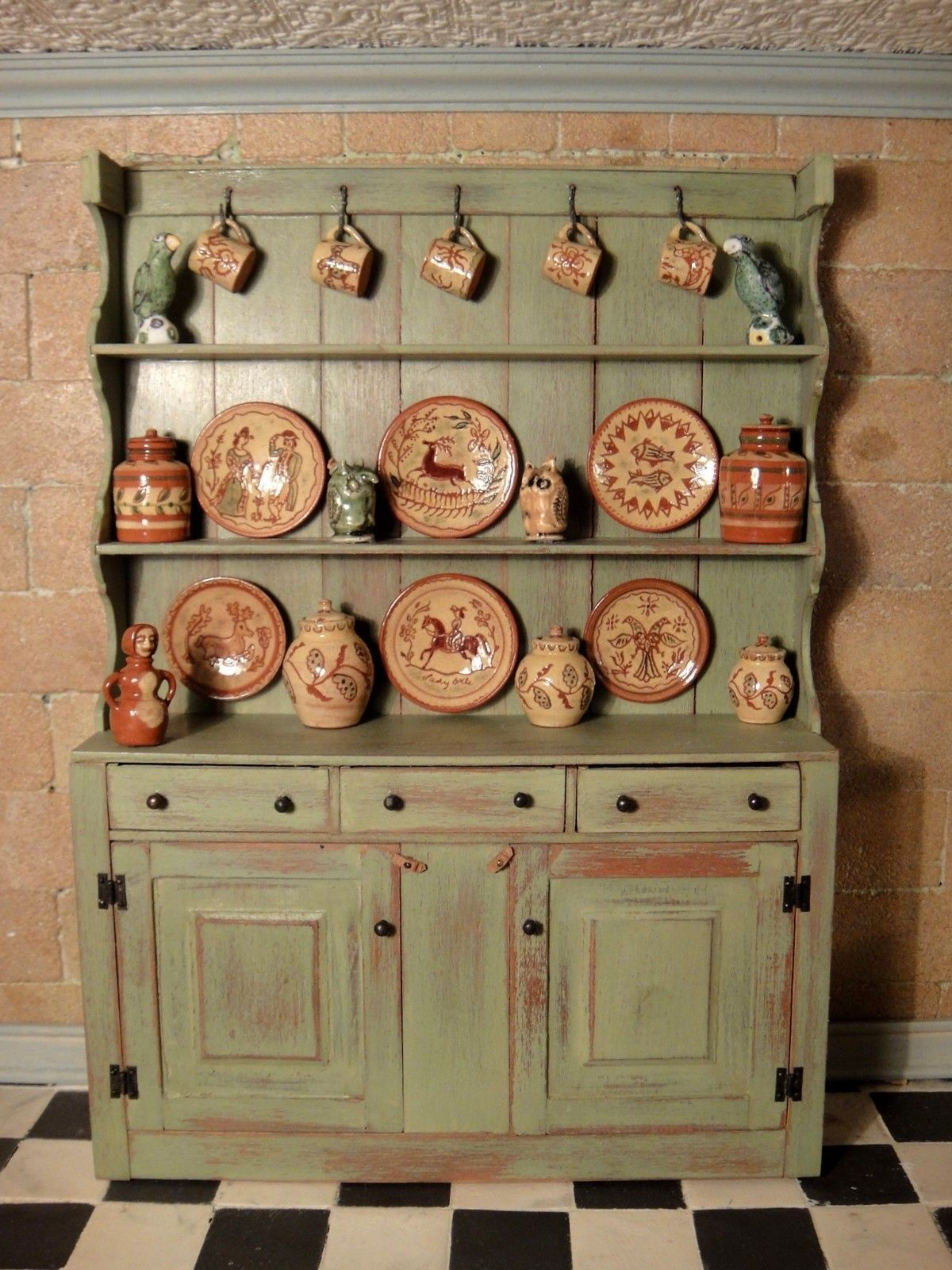 igma barbara vanar s queen anne cupboard filled with jane graber