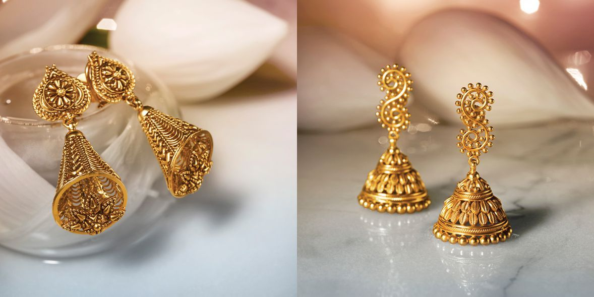 Designer Gold Divyam, Temple Jewellery Online | Tanishq | Jewelry ...