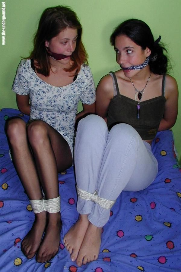 Are not Bound and gagged girls amusing