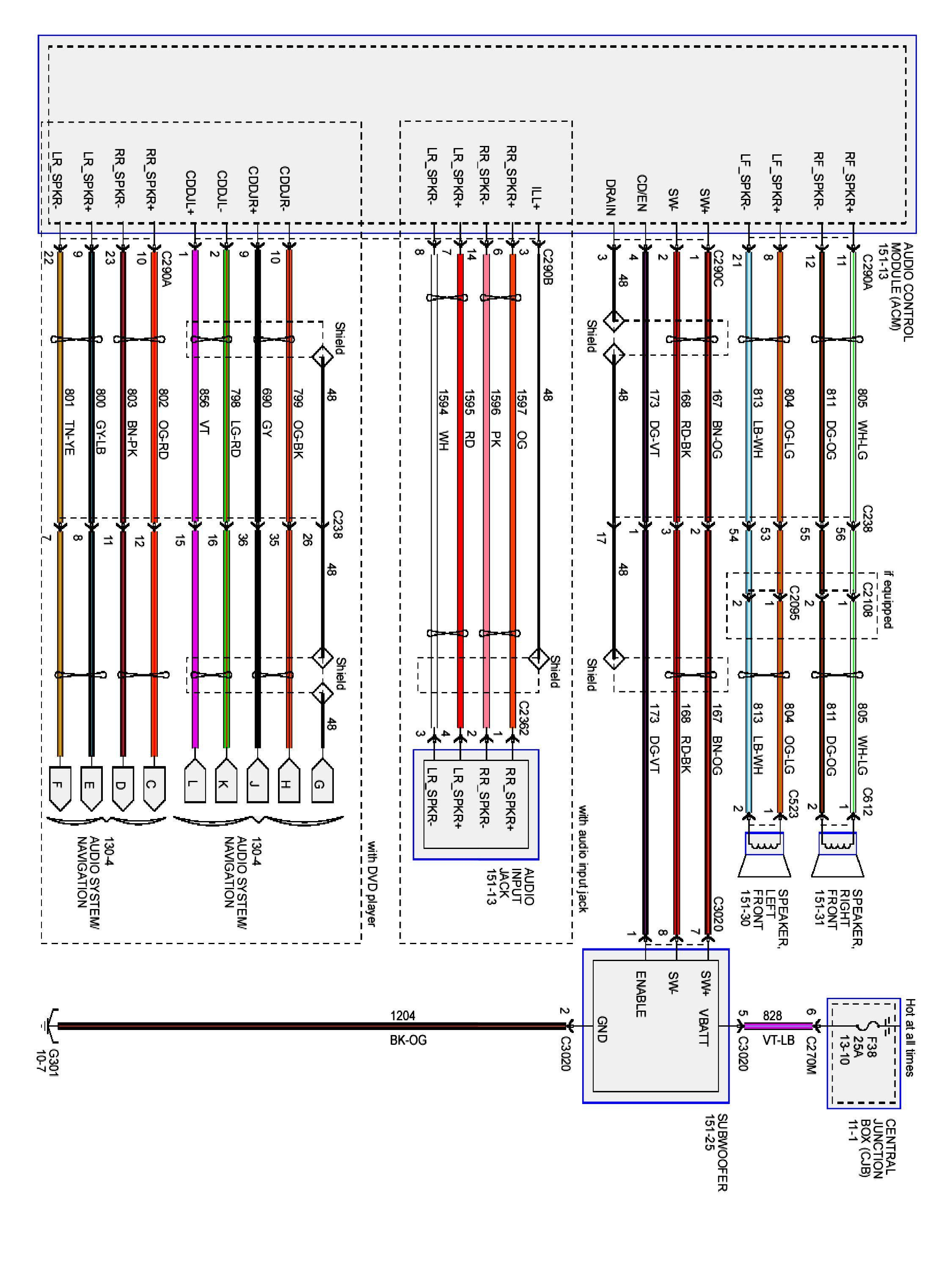 2012 Ford Wiring Diagram Ford Expedition 2004 Ford F150 Diagram