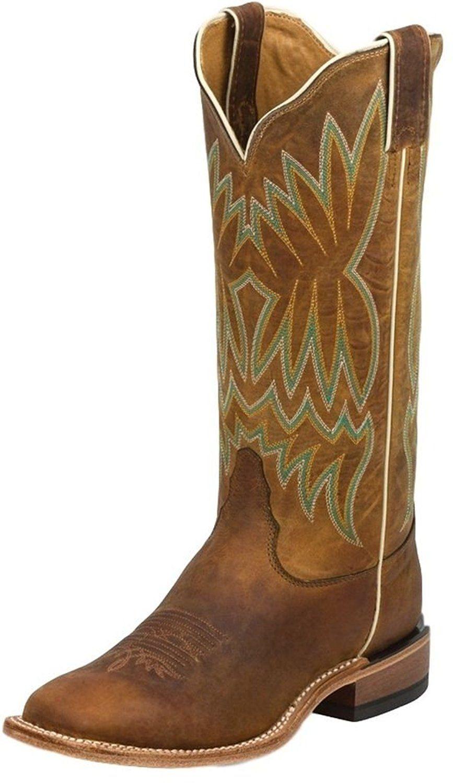047ef9d7ad4 Tony Lama Women's Soft Honey Americana Cowgirl Boot Square Toe ...