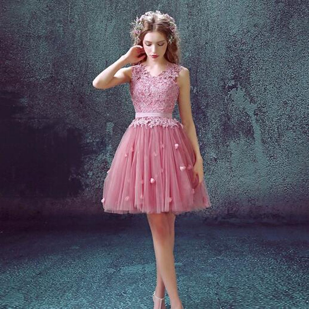 Cute Pink Dresses for Teens | Cute Cocktail Dresses for Juniors-Buy ...