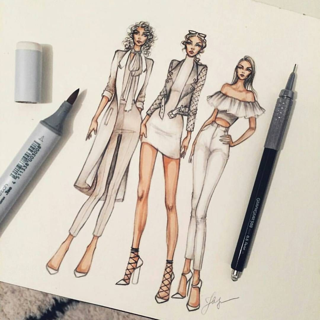 Buy Designer Fashion sketches draw pictures trends