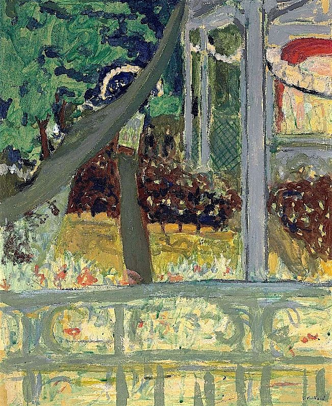 Édouard Vuillard (1868-1940)  Théâtre de plein air (le kiosque)