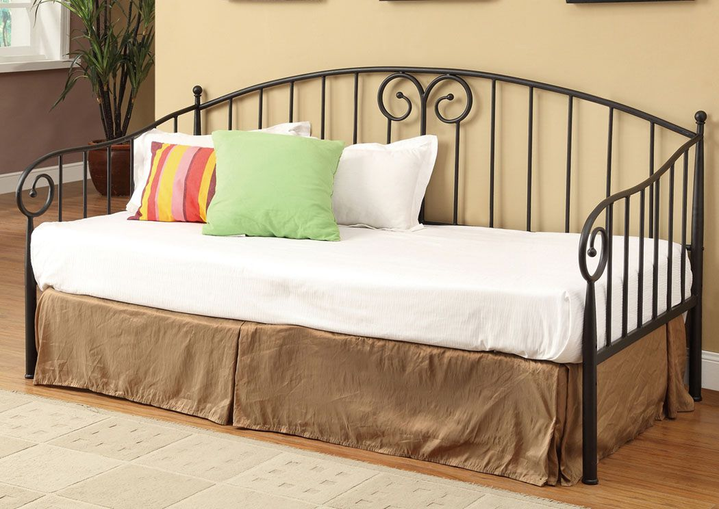 Cozi Furniture New Carrollton Md Dark Bronze Daybed