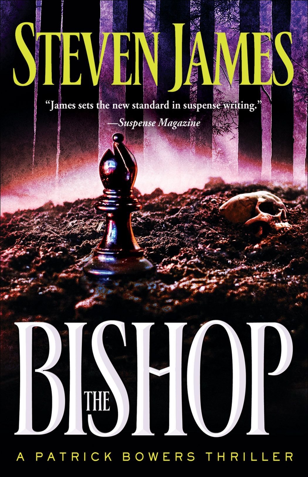 The Bishop is a gripping, adrenaline-laced story for readers who are tired of timid thrillers. Strap on your seat belt and get ready for a wild ride.