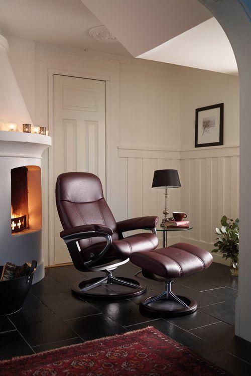 So Schön Kann Komfort Aussehen Stressless Sessel Consul Mit