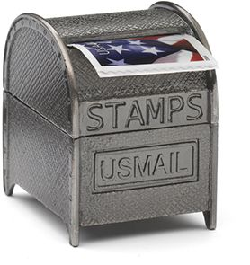 stamp coil dispenser for those who love to send physical corresponded add a roll of forever. Black Bedroom Furniture Sets. Home Design Ideas