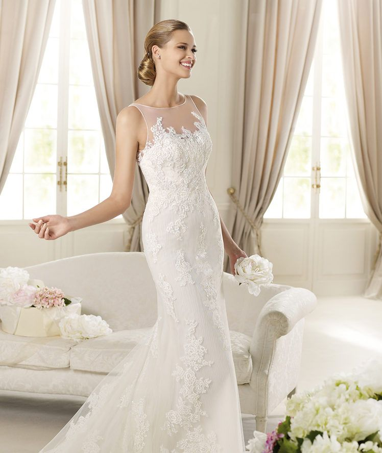 Pronovias te presenta el vestido de novia Distel. Fashion 2013.   Pronovias