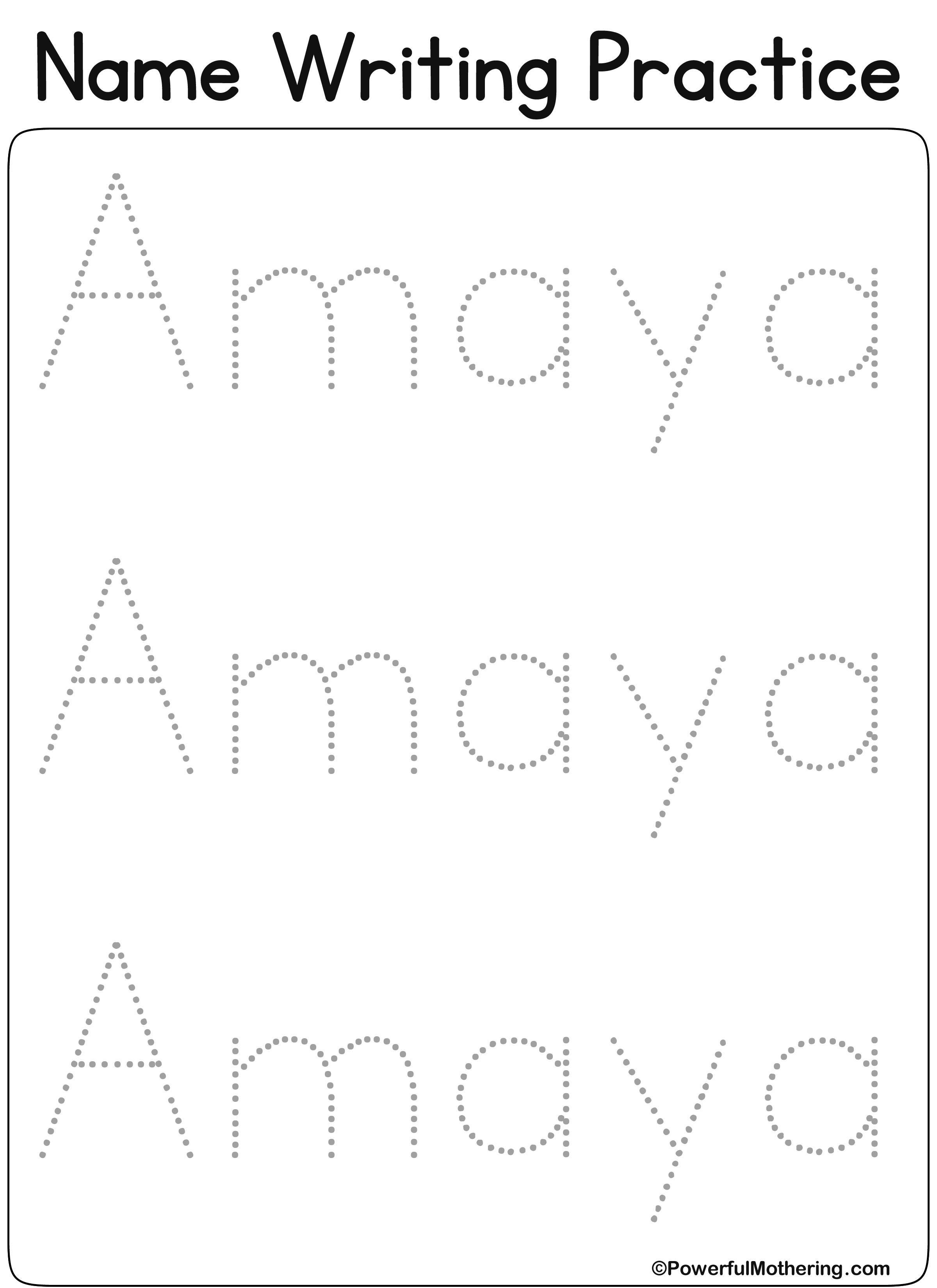 Eateprintables Custom Name Get Text Amaya
