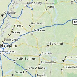 Driving Directions from Millington, Tennessee to Saint Louis ...