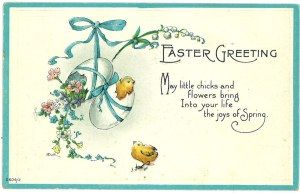 Easter greetings 1910s easter card and easter easter greetings 1910s m4hsunfo