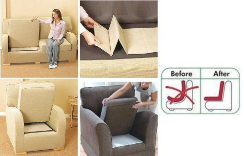 Sag Savers 3 Seater Sofa Rejuvenator Boards For Sofa Chairs Beds