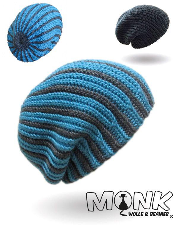 Longbeanie Bosnisch-häkeln | Crochet an knitting | Pinterest | Haube ...