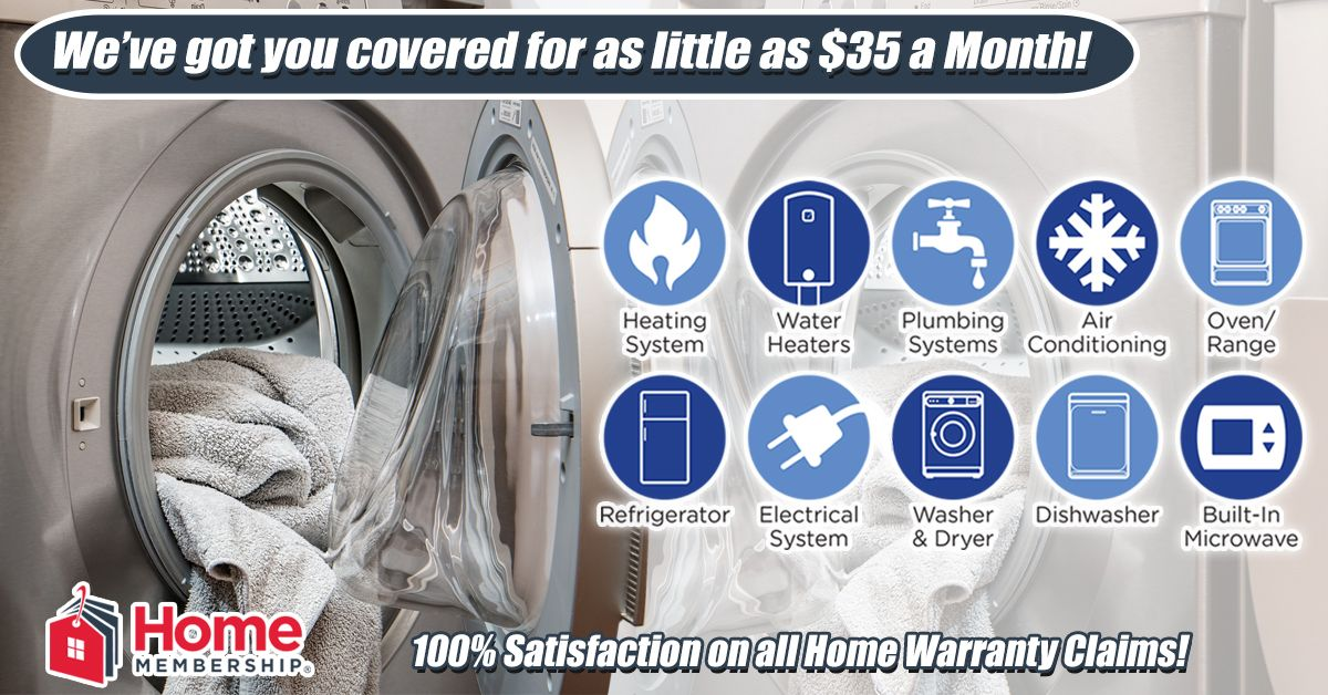 Repairs Can Blow Your Whole Monthly Budget Don T Get Blindsided By Appliance Failures Https Homemembership Water Plumbing Home Protection Appliance Repair