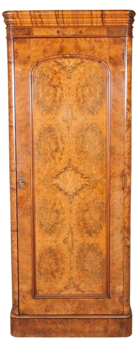 antique single door louis philippe armoire tall storage cupboard art deco furniture furniture styles