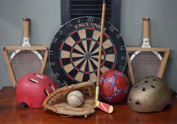 sports office decor. etsy bluefolkhome says ✿ almost all of these items are available at on · sports bar decorvintage office decor
