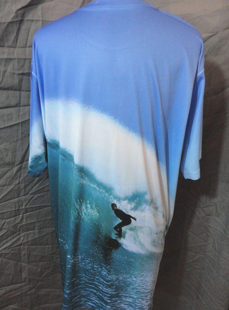NWT GET A LIFE tee shirt Mens XL palm tree Surf Ocean