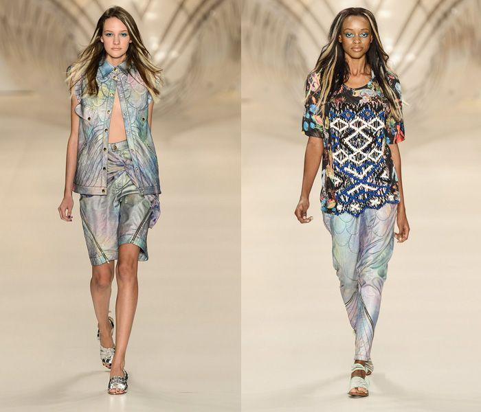 1 Amapo Sao Paulo Fashion Week Denim Jeanswear 2014 Summer Womens Runways 2014 Verao Desfiles Passarela Das Fashion Fashion Week Runway Fashion Week