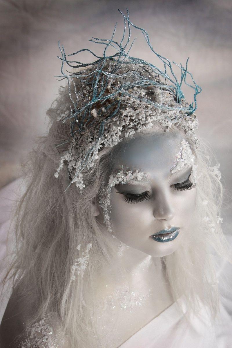 Winter Snow Princess Ice Queen Makeup