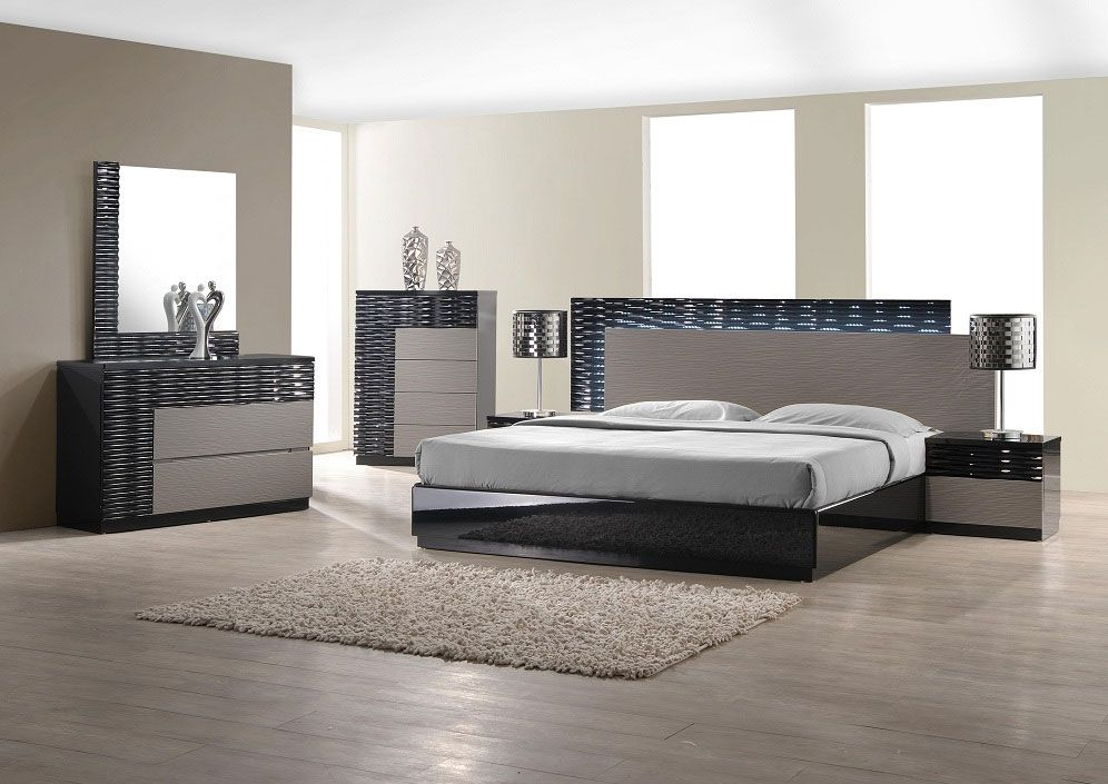 Bedroom Sets Modern Style the chic onda modern bedroom set is a really amazing take on the