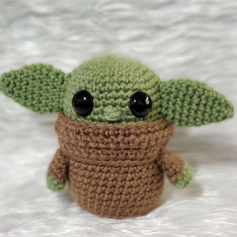 Galamigurumis El Maestro Yoda Renace. Patrón revisado - Galamigurumis | 794x794