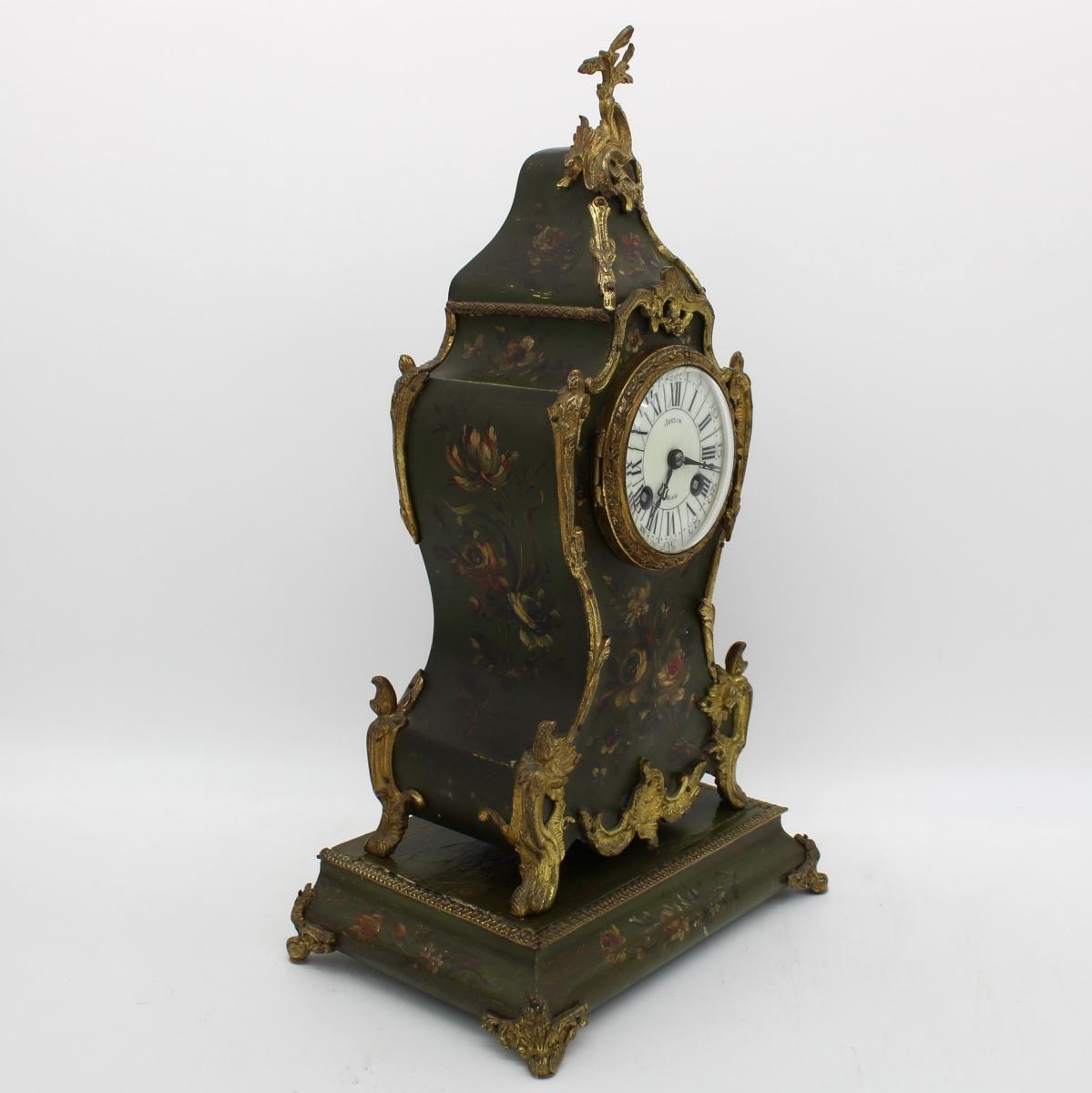 Ancien Horloge Pendule D Epoque Napoleon Iii Du 19eme Siecle Pendules Anciennes Pendule Horloge Pendule Ancienne Horloge