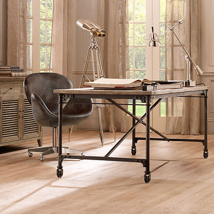 tables on wheels office. 2015 Modern Designer Office Desk Solid Wooden Table Vintage Furniture Escritorio With Tables On Wheels T