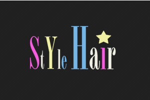 Logo Style Hair Coiffure A Domicile Www Stylehair Coiffure Com Fashion Logo Neon Signs Style