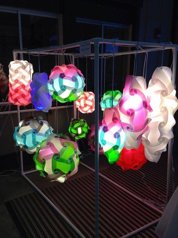 Medium Icicle Iq Light Infinity Lamp Puzzle Light Includes Cord Puzzle Lights Lamp Paper Crafts