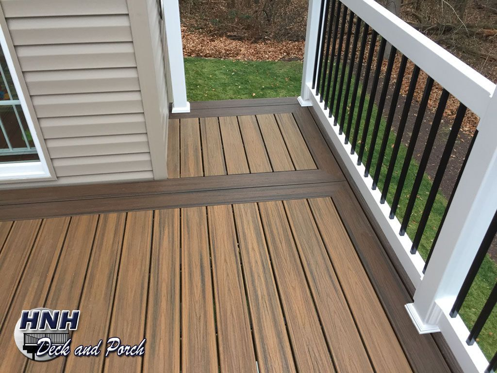 Patio Backyard Back Deck Trex Decking Flooring Covered Porches