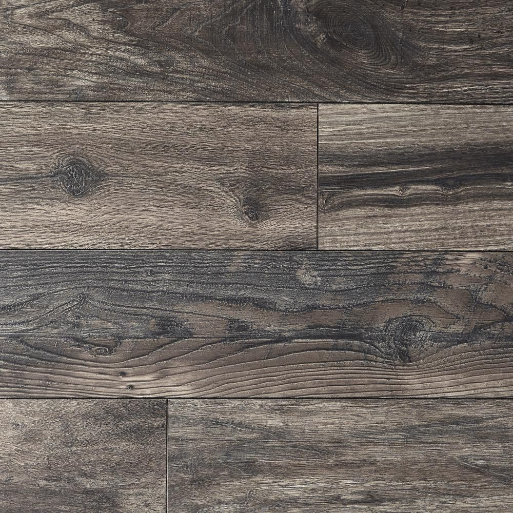 Home Decorators Collection Eir Smokewood Fusion 12 Mm Thick X 6 1 16 In Wide X 50 2 3 In Length L In 2020 Grey Laminate Flooring Gray Wood Laminate Flooring Flooring