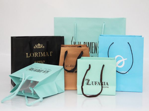 Elegant Luxury Paper Jewelry Bag