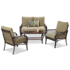 Paradise Collection 4 Piece Seating Set Sku 7028764 Outdoor