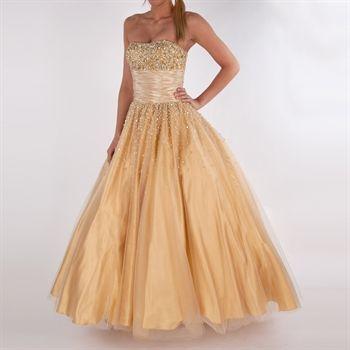dda46b55b19e Bella™ Juniors Sequined Ball Gown PLUS SIZES AVAILABLE  VonMaur  Bella   PromDress