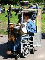 coolest wheel chair -