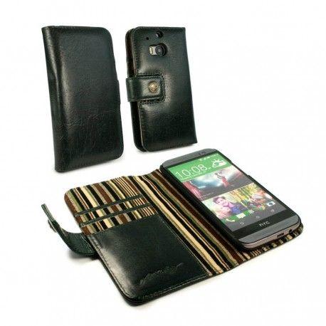 HTC One M8 Alston Craig Nahkakotelo – Racing Green  http://puhelimenkuoret.fi/tuote/htc-one-m8-alston-craig-nahkakotelo-racing-green/