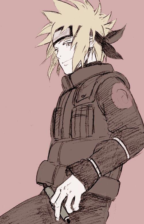 Minato Namikaze (Cuarto Hokage) <3 | Naruto | Pinterest | Naruto ...