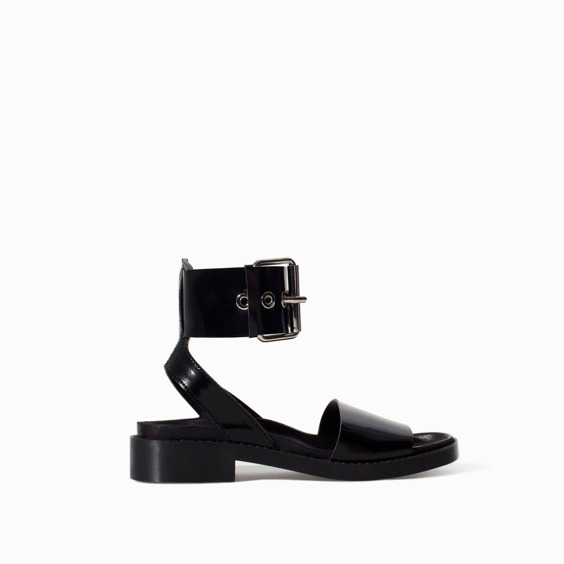 c9e621ecf6 BIO WITH ANKLE STRAP AND BUCKLE - Shoes - TRF - SALE | ZARA Canada ...
