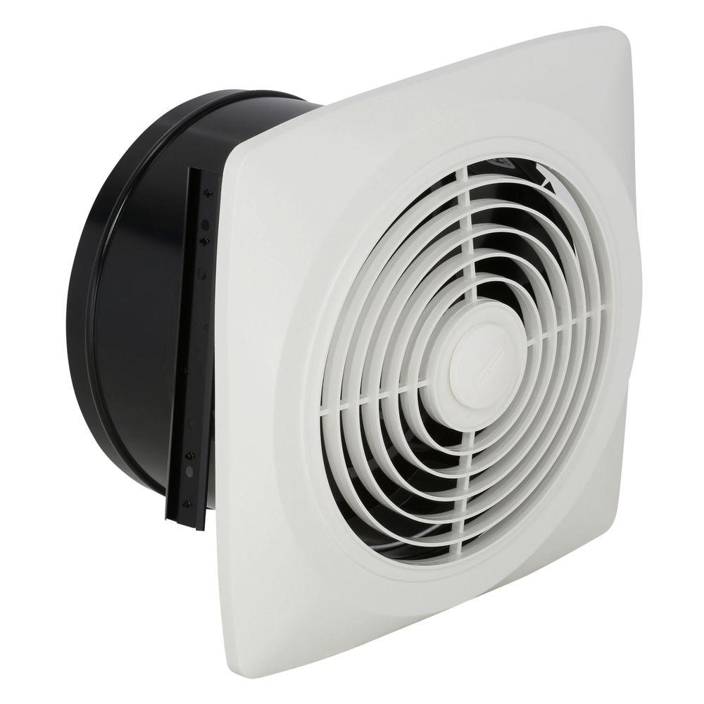 180 Cfm Through The Wall Exhaust Fan With On Off Switch 509s The Home Depot Wall Exhaust Fan Exhaust Fan Kitchen Exhaust Fan