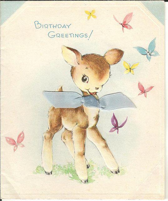 Vintage Birthday Pre 1945 004 Vintage Birthday Cards Vintage Birthday Vintage Greeting Cards