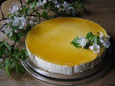 Tyrni-juustokakku